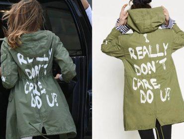 Stylist de Melania Trump garante que não teve nada a ver com escolha de jaqueta polêmica