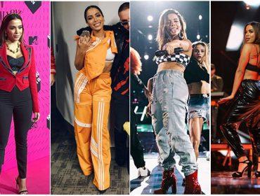 Glamurama deu um giro pelos looks usados por Anitta no feriadão… Vem ver!