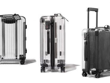 Desejo do dia: pratique o desapego com a mala de viagem transparente que é o must have do momento