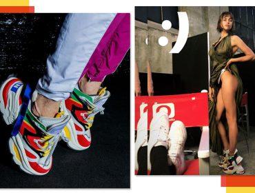 Híbrido de sandália e sneaker divide opiniões ena semana de moda de Milão