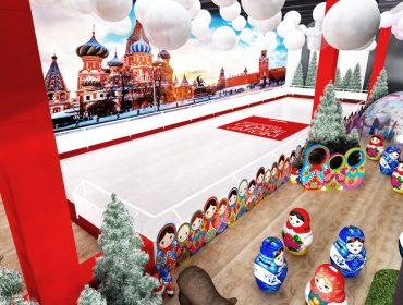 Patinação no gelo é a dica para os glamuzinhos curtirem as férias no Shopping Cidade Jardim