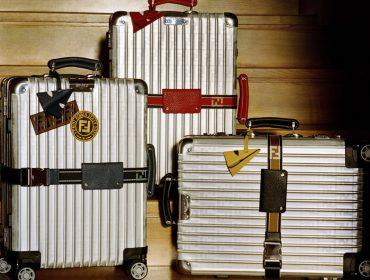 Rumo à Copa com as novas versões das malas criadas pela Rimowa em parceria com a Fendi