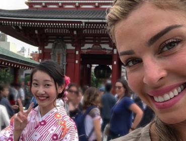 """Grazi Massafera sobre temporada no Japão: """"Me senti a Pretty Woman. Mexe com a cabeça da gente"""""""