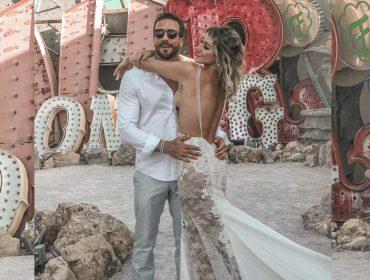 Sim, de novo! Gabriela Pugliesi e Erasmo Viana renovam os votos de casamento em Las Vegas