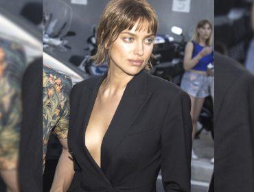 Irina Shayk aparece com visual reformulado e lookedgy com franjas. Vem ver!