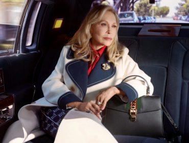 Aos 77 anos, Faye Dunaway estrela campanha de famosa grife italiana inspirada em Hollywood