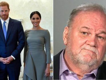 Harry e Meghan Markle estudam comprar o silêncio do pai da ex-atriz, que vive falando com os tabloides