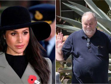 """""""Ela não está feliz"""", afirma pai de Meghan Markle em nova entrevista em que ataca a família real"""