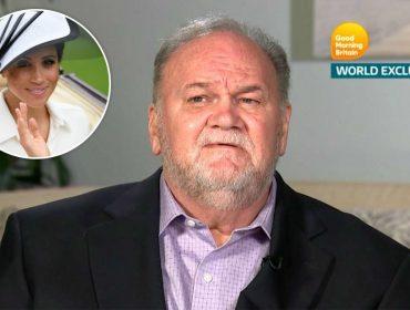 Em nova entrevista bombástica, pai de Meghan Markle ameaça a ex-atriz e a família real