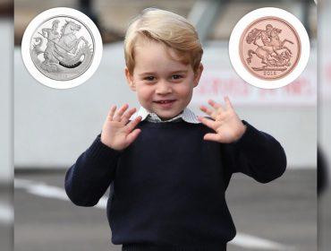 Casa da moeda britânica vai lançar moedas especiais para celebrar o aniversário do príncipe George