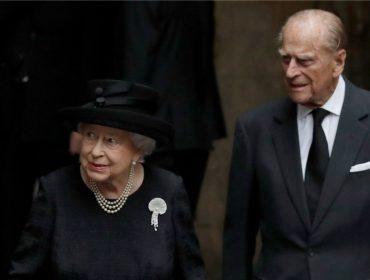 Rumores sobre a morte do príncipe Philip tiraram a rainha Elizabeth II do sério no fim de semana
