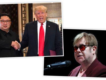 Saiba porque Trump quer presentear Kim Jong Un com CD com hit de Elton John
