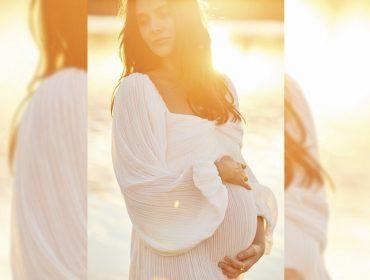 Cris Barros aproveita beleza da gravidez para posar de modelo. Vem ver!