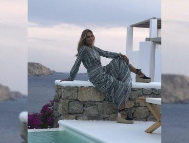 Fernanda Barbosa comemora aniversário rodeada de glamurettes em Mykonos