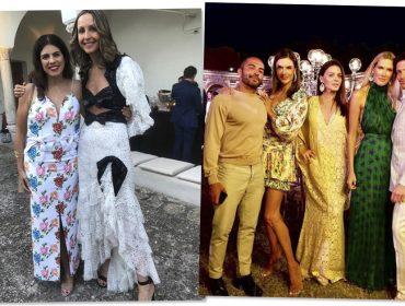 Amalia Spinardi reune glamurettes em Capri para comemorar aniversário em grande estilo