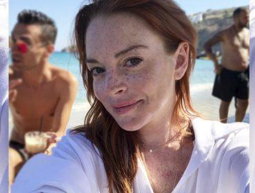 Lindsay Lohan reclama de sapato de funcionária e ameaça demiti-la pelo Instagram
