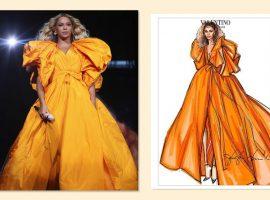 """Da passarela ao palco: figurinos de Beyoncé em """"OTR II"""" ganham poderosos looks couture"""