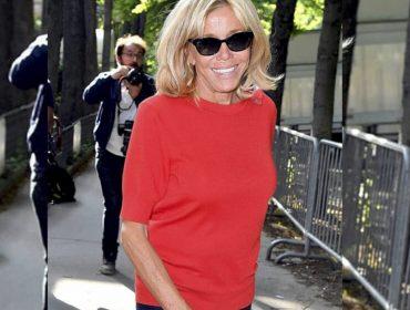 Look de Brigitte Macron em desfile de alta-costura causa diz-que-diz na semana de moda de Paris
