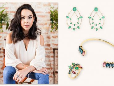 Designer de joias, Carolina Neves conquista o mercado internacional. Vem saber!