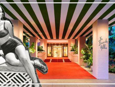 Chaplin, Liz Taylor ou Dietrich? Beverly Hills Hotel e seus bangalôs inspirados em hóspedes famosos