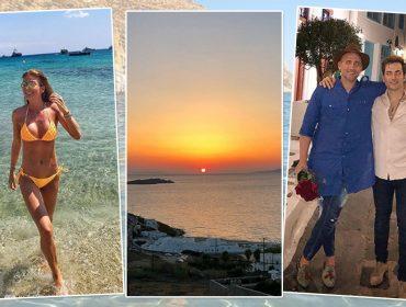 DestinoMykonos: turma de glamurettes desembarca nailha para temporada de férias