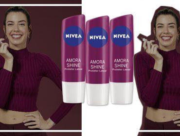 NIVEA convoca Camila Coutinho para apresentar primeiro protetor labial com cor da marca. Vem saber!