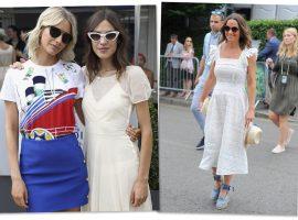 De Alexa Chung a Pippa Middleton, os melhores looks do torneio de Wimbledon 2018