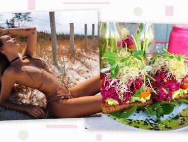 Nutricionista de Yasmin Brunet revela os detalhes sobre a dieta vegetariana da modelo