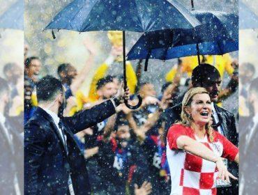 5 momentos em que a presidente da Croácia roubou a cena na Copa da Rússia