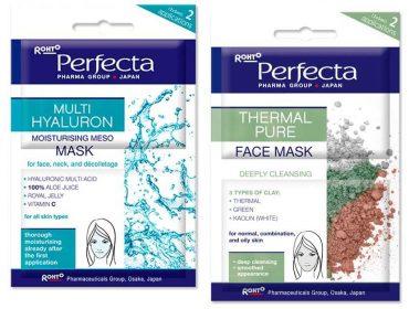 Passe de mágica: pele reluzente em 20 minutos com as Perfecta Masks. Vem!