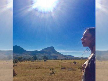 Apaixonada por Alto Paraíso, Lea T está totalmente integrada às belezas e tradições da região. Vem ver!
