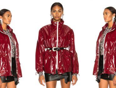 Desejo do Dia: arrasar mesmo em dias de frio e chuva com a jaqueta de vinil Isabel Marant