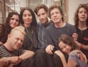 Retrato de família: Mick Jagger comemora aniversário cercado de filhos e netos