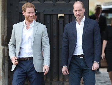William e Harry terão que assistir jogo da Inglaterra na Copa pela televisão. O motivo?