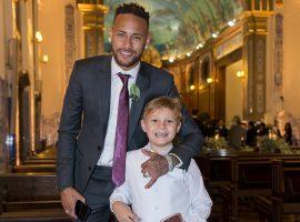 Davi Lucca, filho de Neymar, cresceu e apareceu, e tem roubado a cena onde quer que vá