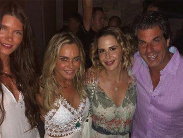 Guilhermina Guinle comemora aniversário rodeada de amigos no hotspot mais fervido desse verão