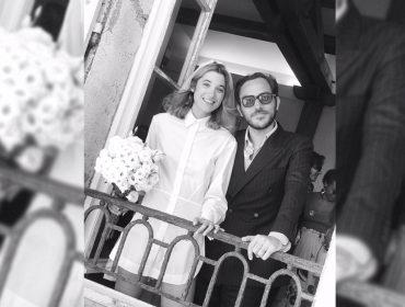 Veja como foi o casamento de um dos casais franceses mais charmosos do mundo da moda…