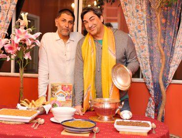 """Zeca Camargo e Varunesh Tuli recebem convidados para o lançamento do livro """"Índia, sabores e sensações"""""""