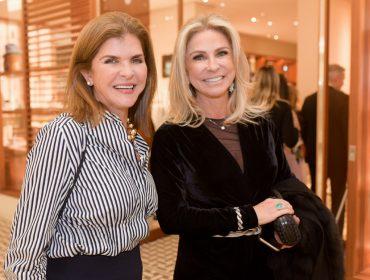 Inauguração da nova vitrine da Hermès agitou o shopping Iguatemi SP