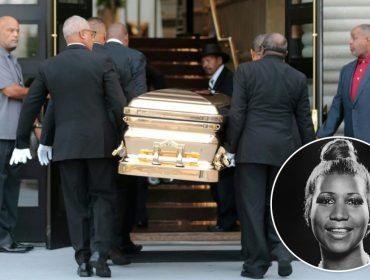 Corpo de Aretha Franklin chega ao museu de Detroit onde será velado até sexta-feira