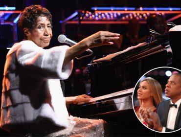 Rainha do soul e gravemente doente, Aretha Franklin é homenageada por Beyoncé e Jay Z