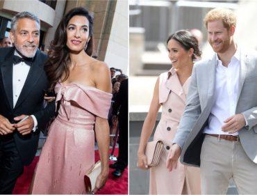 O fim de semana de Meghan Markle e Harry foi na companhia dos Clooneys. Vem saber!