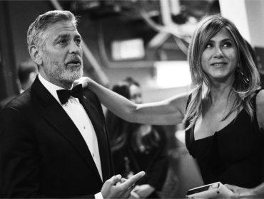 Jennifer Aniston é vista na vila de George Clooney na Itália e levanta rumores sobre revival com Brad Pitt