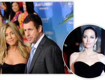 Flagrada de mãos dadas com Adam Sandler, Jen Aniston deixa Angelina Jolie toda enciumada. Entenda!