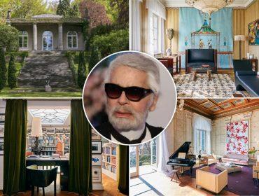 Château que já foi de Karl Lagerfeld e tem decoração assinada por ele está à venda por R$ 44 mi