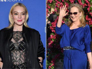 """Lindsay Lohan quer estrelar versão """"live action"""" de """"A Pequena Sereia"""" com Meryl Streep"""