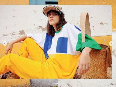 Helena Cebrian, filha da figurinista Claudia Kopke, está dando o que falar no mundo fashion
