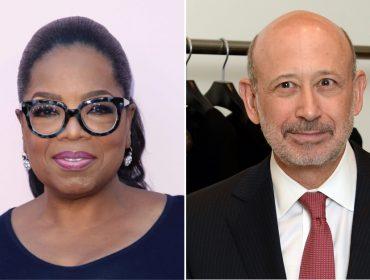 Oprah é flagrada na Itália em momento relax e na companhia de banqueiro poderoso