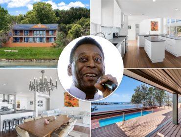Pelé vende casa que comprou há quase 40 anos nos Hamptons, em NY, por mais de R$ 10 mi