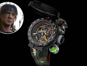 """Glamurama mostra o relógio do """"Rambo"""" que vale R$ 4 milhões e terá apenas 20 unidades"""